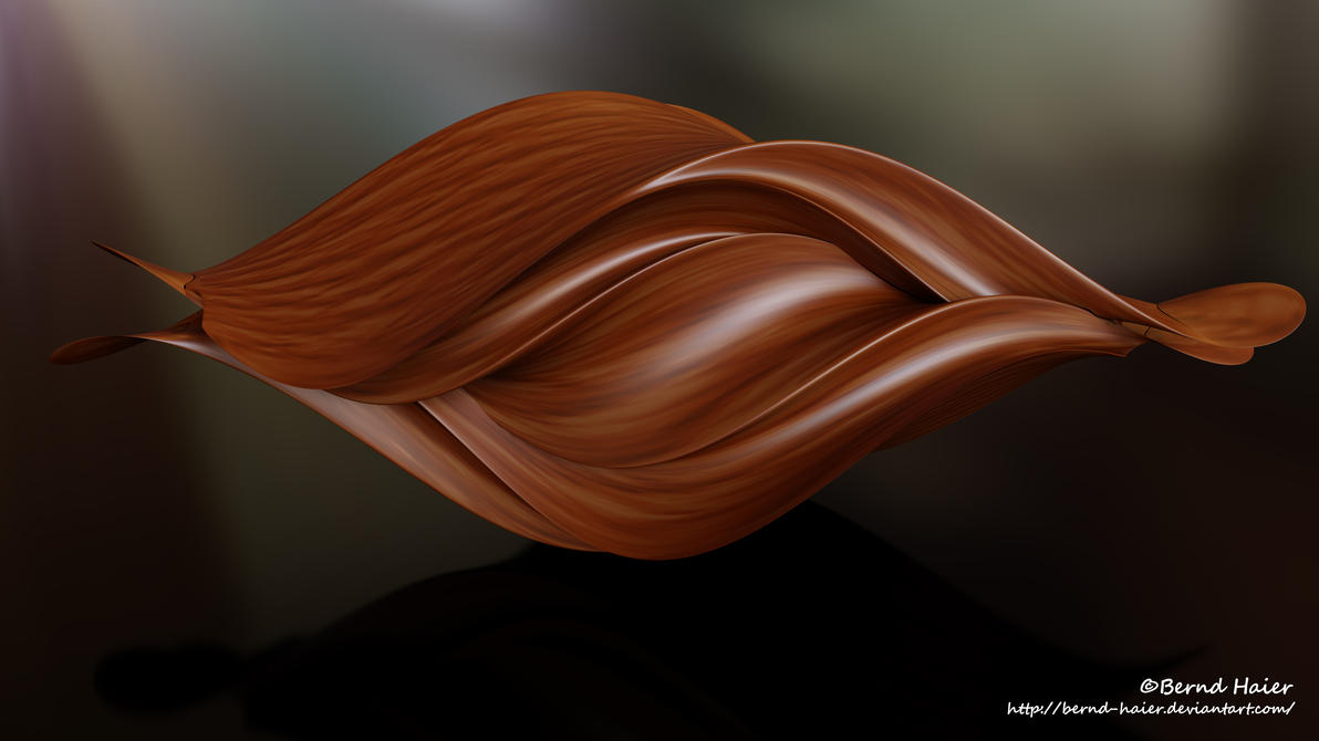 Box transformed into a sculpture / jewelery mat 13 by Bernd-Haier