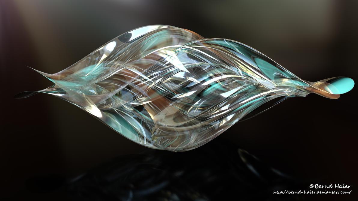 Box transformed into a sculpture / jewelery mat 18 by Bernd-Haier