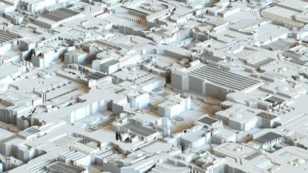 SFI / Fantasy / Surreal  City pre rendering