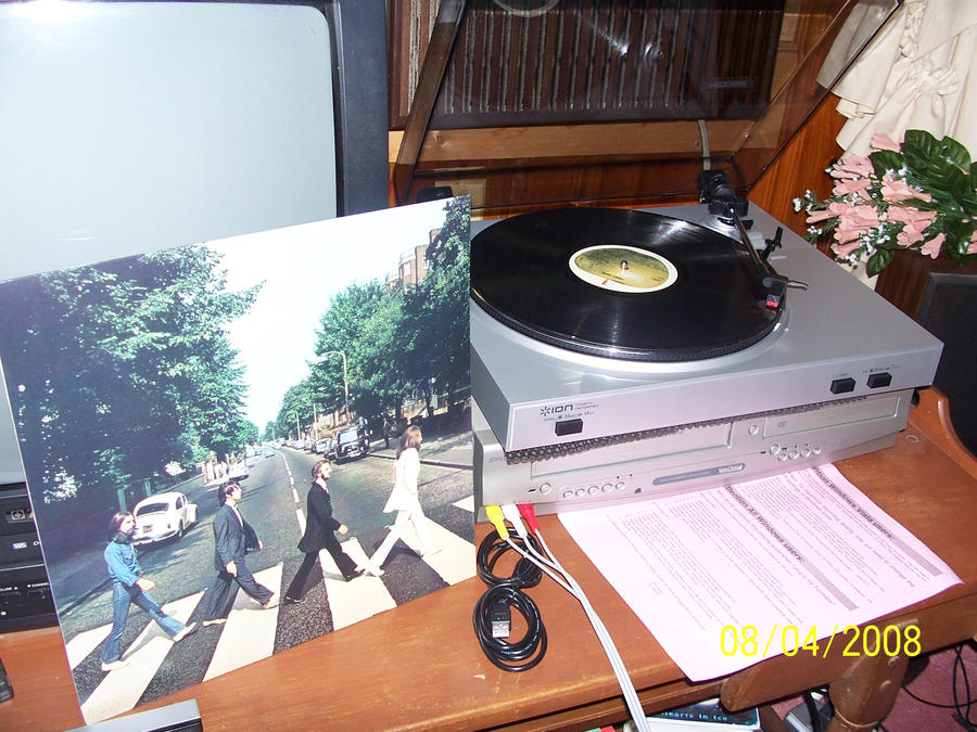 Abbey Road Vinyl By Patriot1776