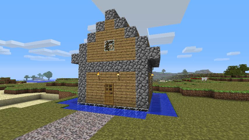 Whitelist Application Format -Updated- Minecraft_first_house_by_patriot1776-d3bpmv6