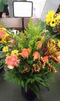 Harvest Surprise Vase Arrangement by pippierafrostlin