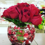 Valentines Rose Bowl by pippierafrostlin
