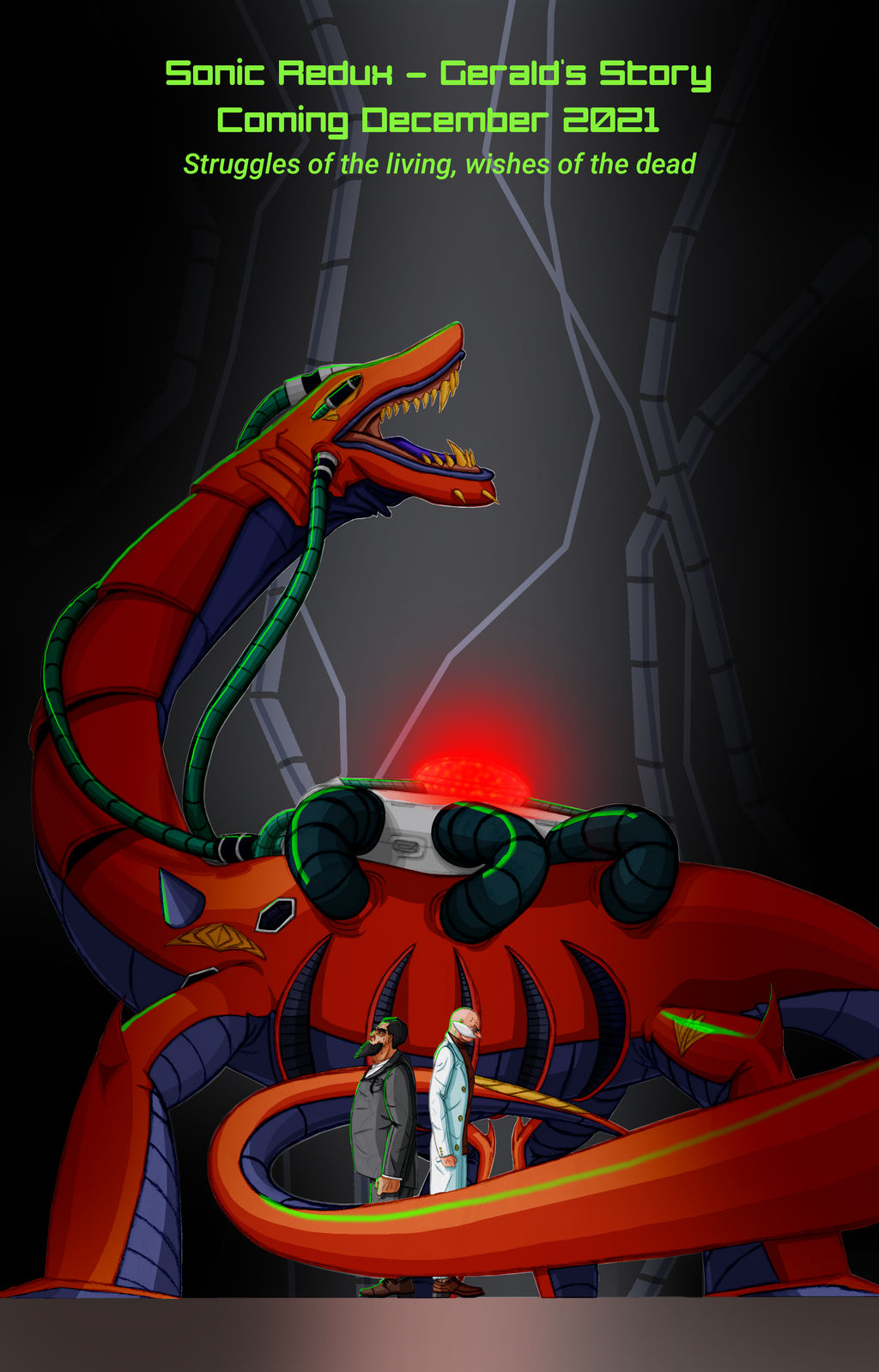 UAGS: Biolizard Poster