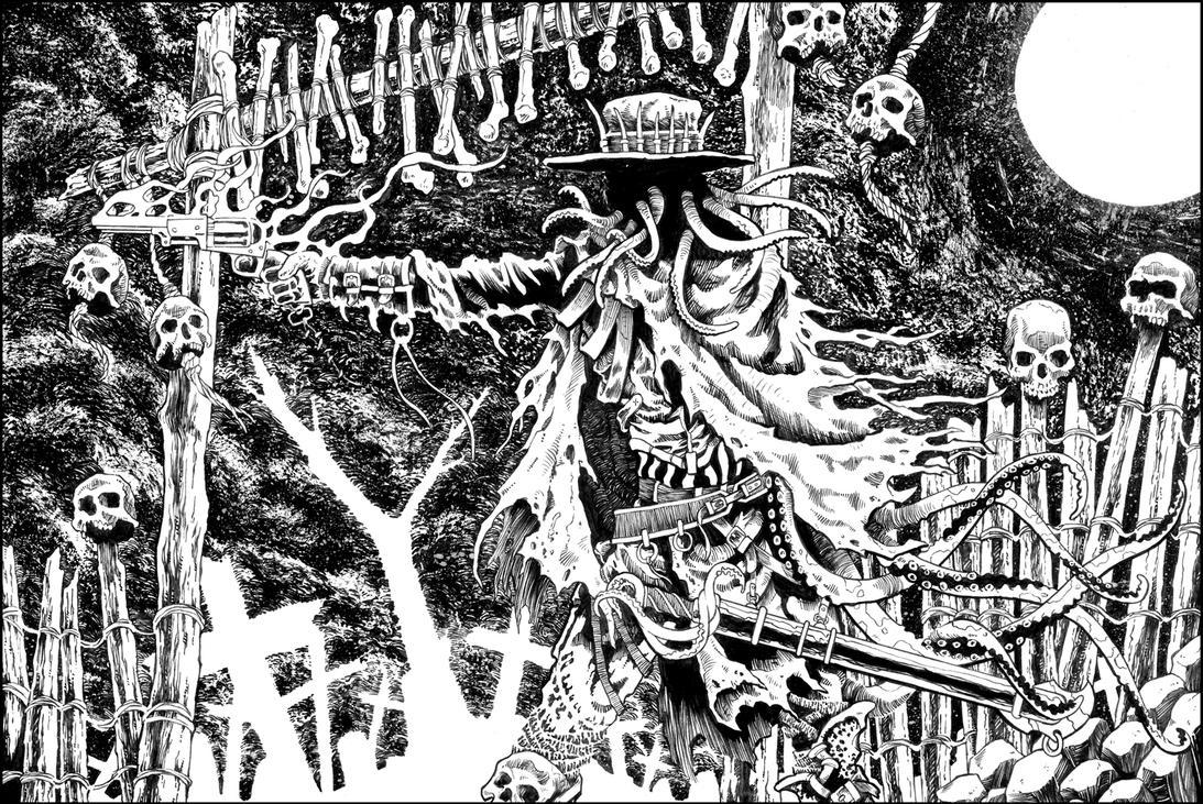 Cthulhu gunfighter by blade1158 on deviantart - Gunfighter wallpaper ...