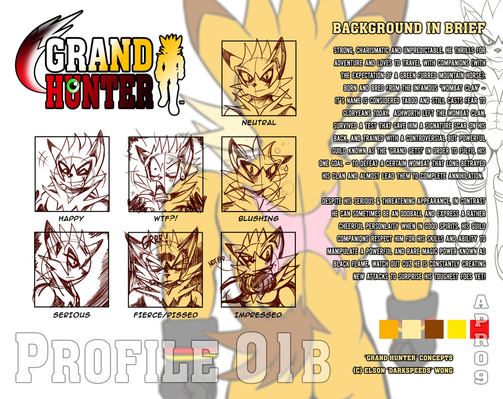 GRAND HUNTER Bio 01B: Ashworth by darkspeeds