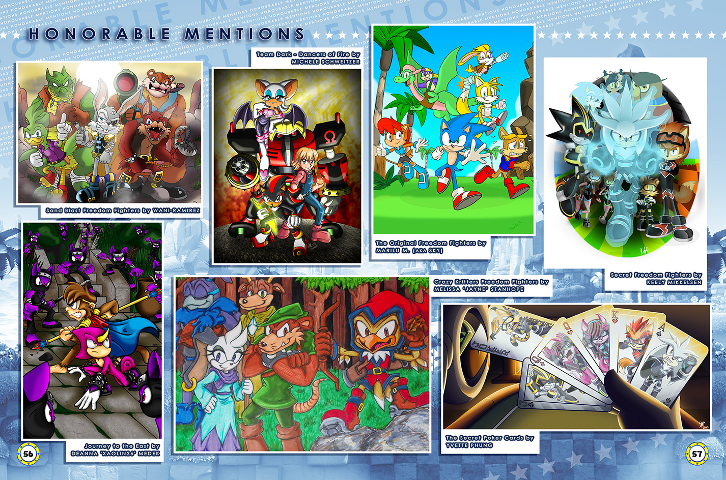 Sonic Art Collection (Page 56-57) by darkspeeds