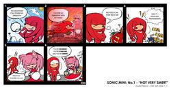 Sonic Mini: Not Very Smert by darkspeeds