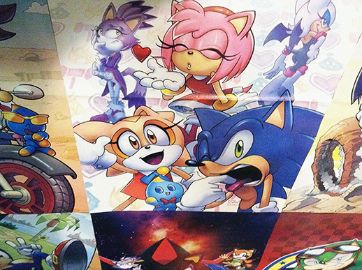Sonic Super Special: Posters in Darkspeeds Room 11 by darkspeeds