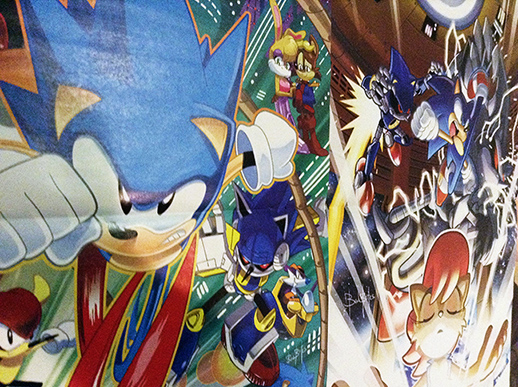Sonic Super Special: Posters in Darkspeeds Room 10 by darkspeeds