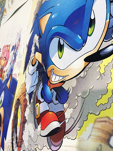 Sonic Super Special: Posters in Darkspeeds Room 08 by darkspeeds