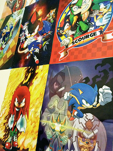 Sonic Super Special: Posters in Darkspeeds Room 05 by darkspeeds