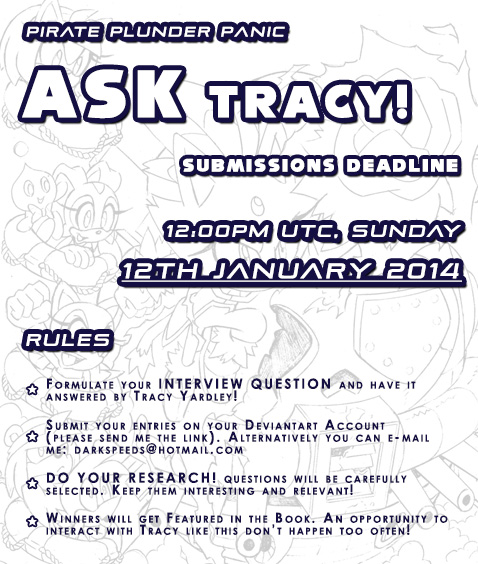 Fan submissions - Method 02 - Ask Tracey! by darkspeeds