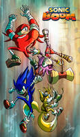 SONIC BOOM Generation by darkspeeds