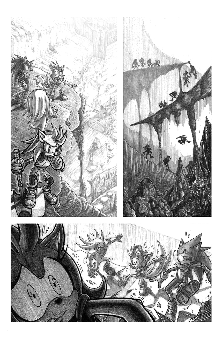 Ambush at Osiris Falls Page 01(small) by Darks by darkspeeds