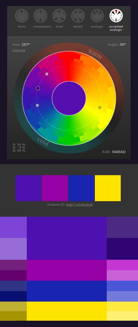 Color Scheme by darkspeeds