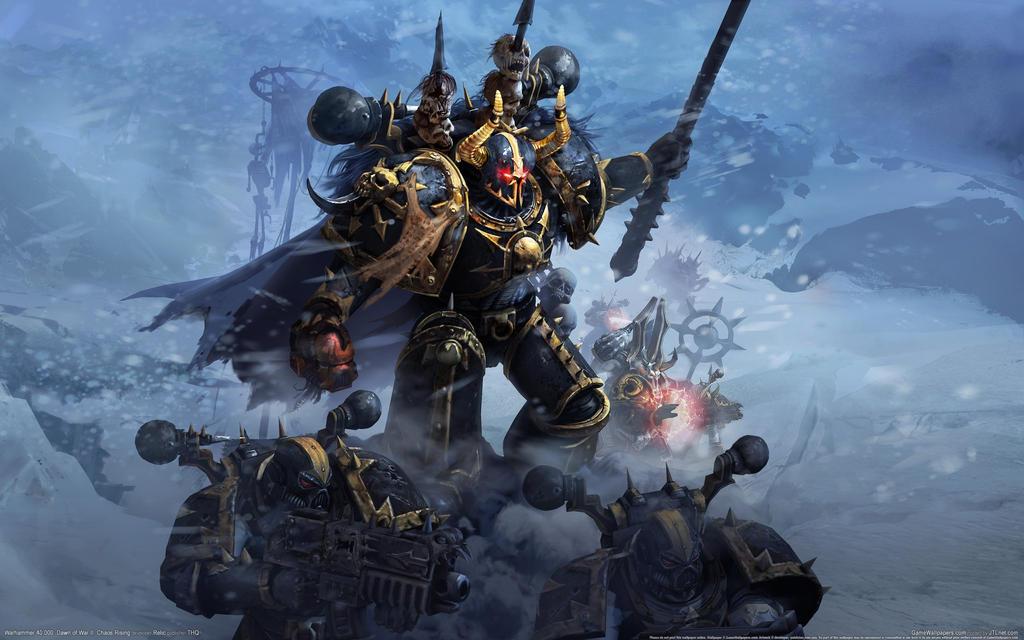16398 Warhammer 40k Chaos by darkspeeds