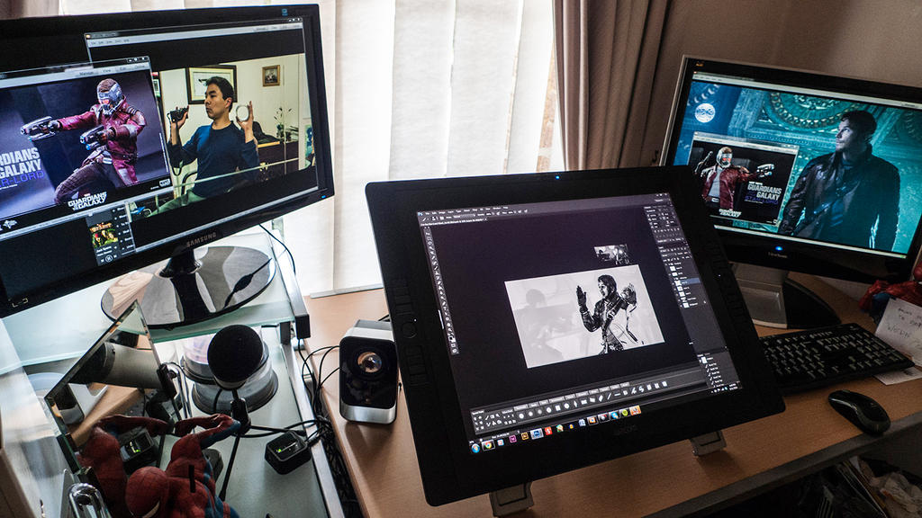 Darkspeeds's Studio (Three Screens) by darkspeeds