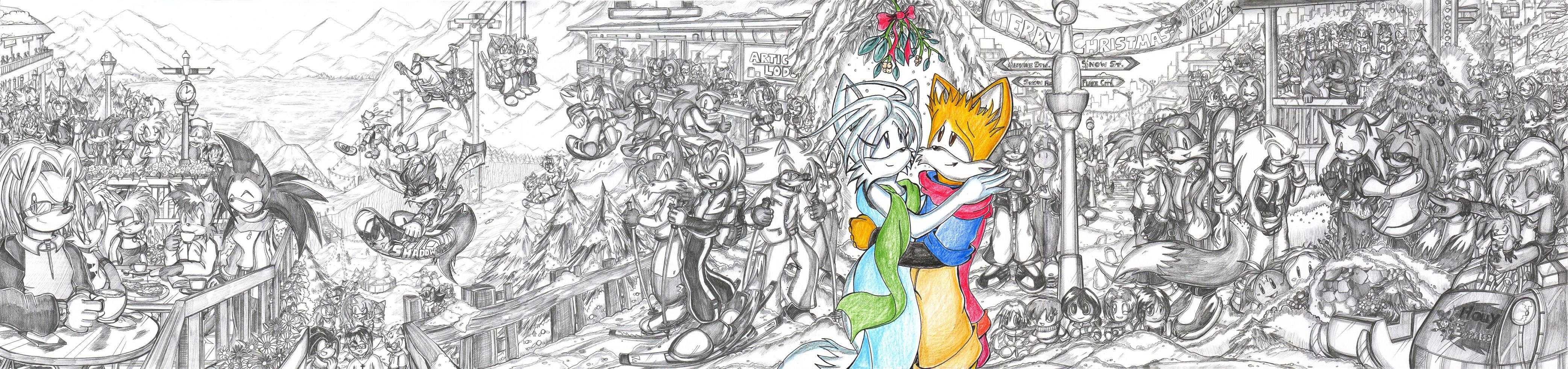 A Merry Christmas Festivity by darkspeeds