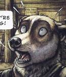 NG Character15 Victim-2---Dog by darkspeeds