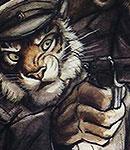 NG Character08 The-Captain-(Tiger) by darkspeeds