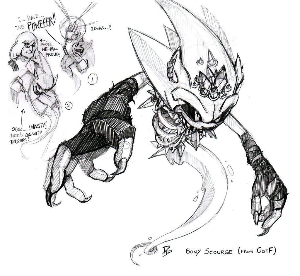 Bony Scourge (GotF) by darkspeeds