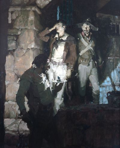 Mead Schaeffer painting by darkspeeds