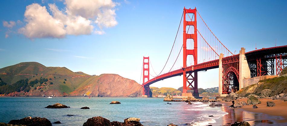 San Francisco Golden Gate Bridge by darkspeeds