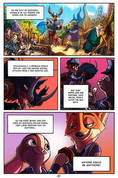 Zootopia - The Stinky Cheese Caper - Page 01