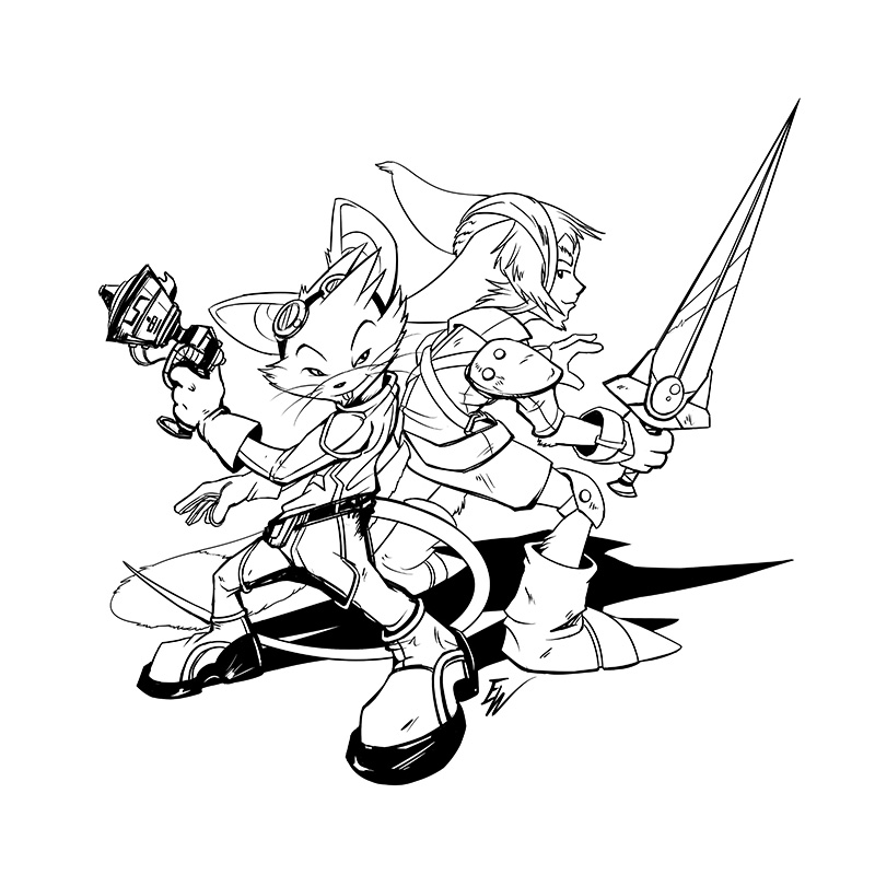 Heroes at Heart INKED2 for Jake Parker by darkspeeds