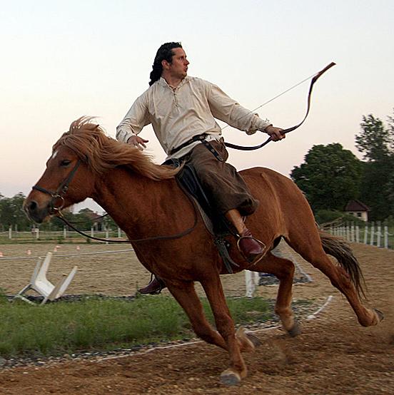 Horseback Archer 19 By Syccas Stock-d51jun3 by darkspeeds