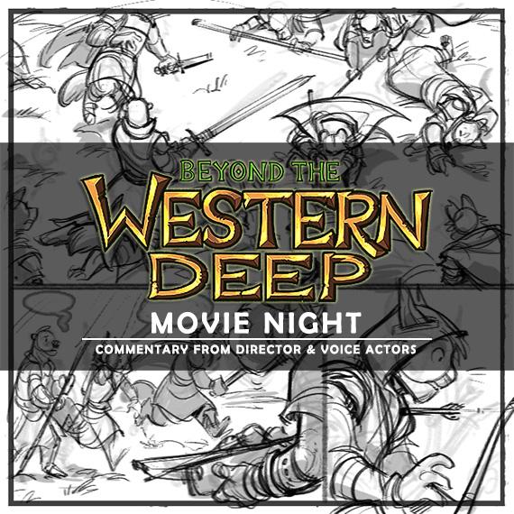 BtWD-MovieNight01 2017 by darkspeeds