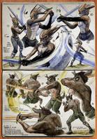 Watercolor Sketchbook (Pgs 05-06) by darkspeeds