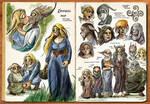 Watercolor Sketchbook (Pgs 07-08)