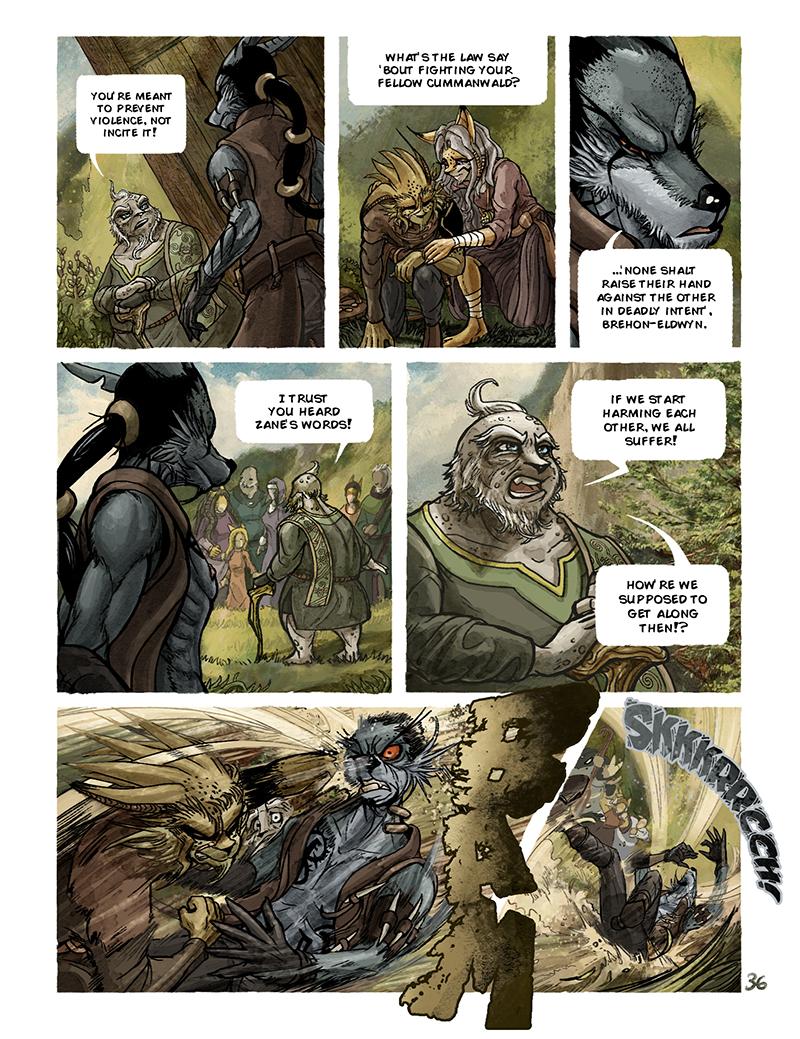 The Elder Speaks by darkspeeds