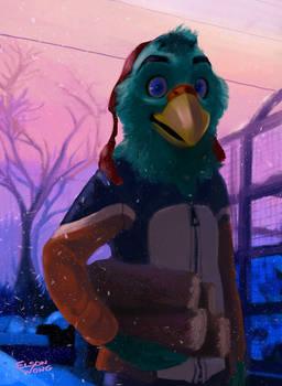 Adler the Eagle