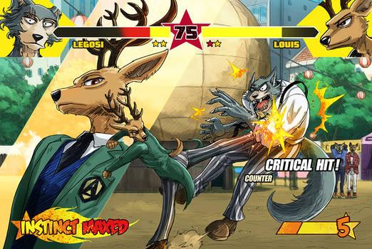 BEASTARS Fighting Instincts (LOUIS vs LEGOSI)
