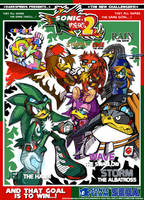 Sonic Riders 2 Promo Poster by darkspeeds