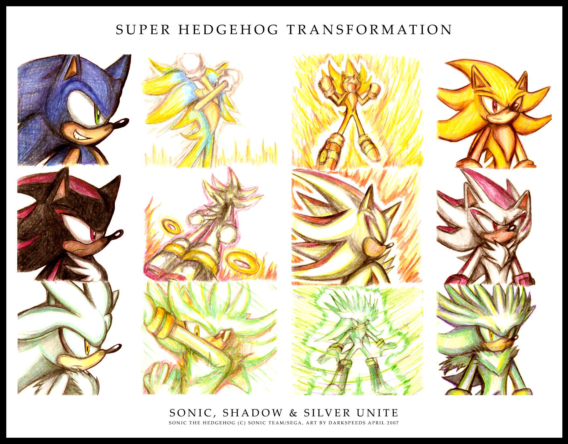 Super Hedgehog Transformation by darkspeeds on DeviantArt