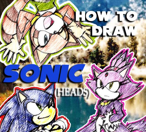 how to draw dark sonic dragoart