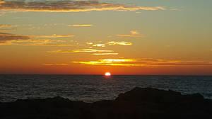 Sunrise over Lake Michigan  by Lil-J-vs-Gavin