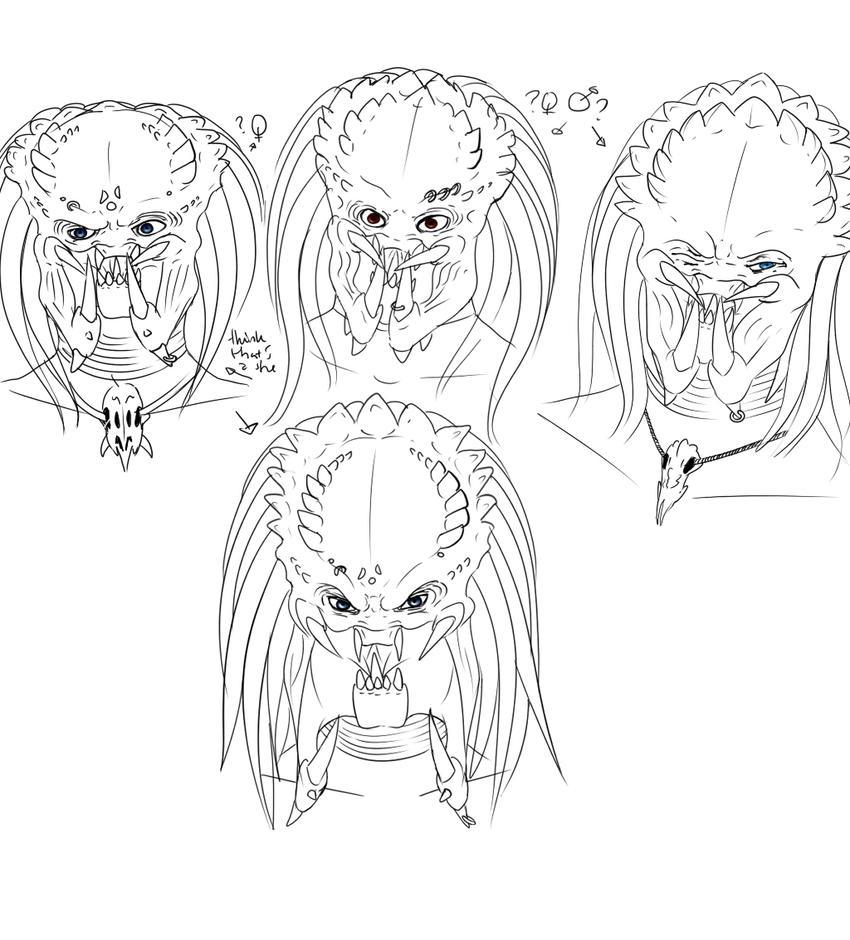 Predator face by Jorda96 on DeviantArt