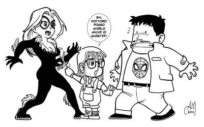 Marvel vs. Arale 1