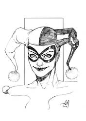 Drawing for fun - HARLEY QUINN