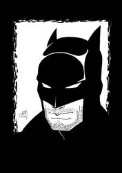Drawing for fun - BATMAN