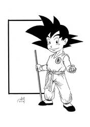 Drawing for fun - SON GOKU