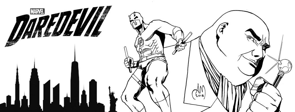 DAREDEVIL - Facebook Cover