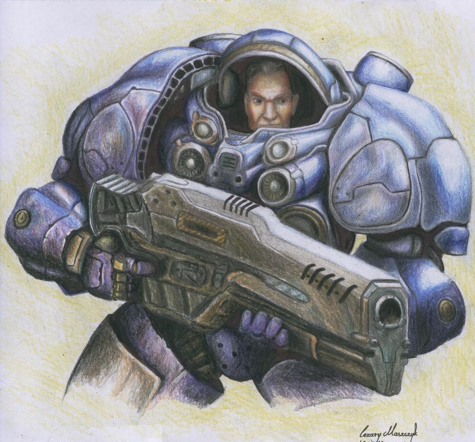 starcraft space marine artwork - photo #37