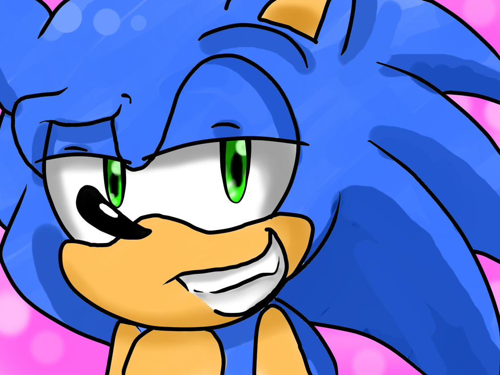 Sonic adult drawings think