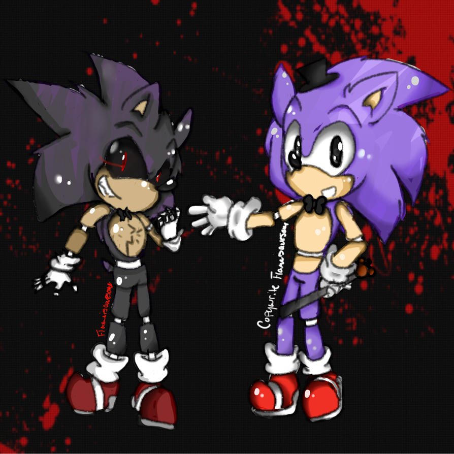 Sonic and Five Night's at Freddy's Crossover by Flameisawesome